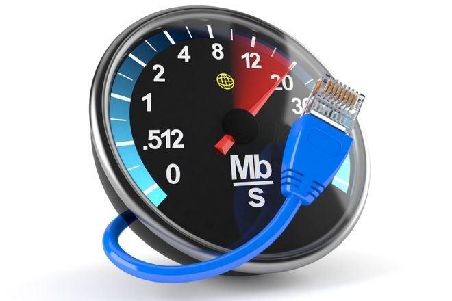 скорость интернетсоединения
