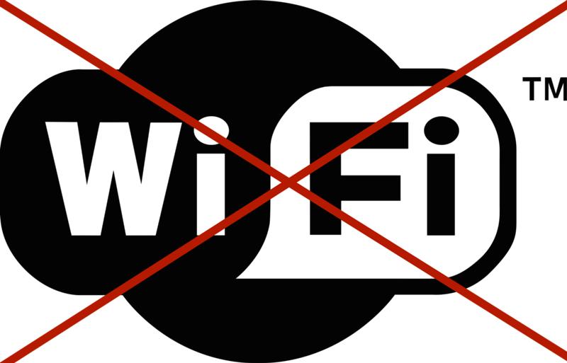 отключить wi fi