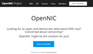Open NIC DNS