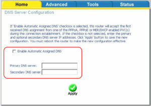 Enable Automatic Assigned DNS