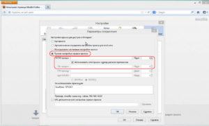 Ручная настройка сервиса прокси HTTP и SSL