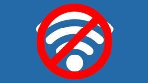 Не работает wi-fi