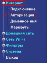 Интернет-авторизация