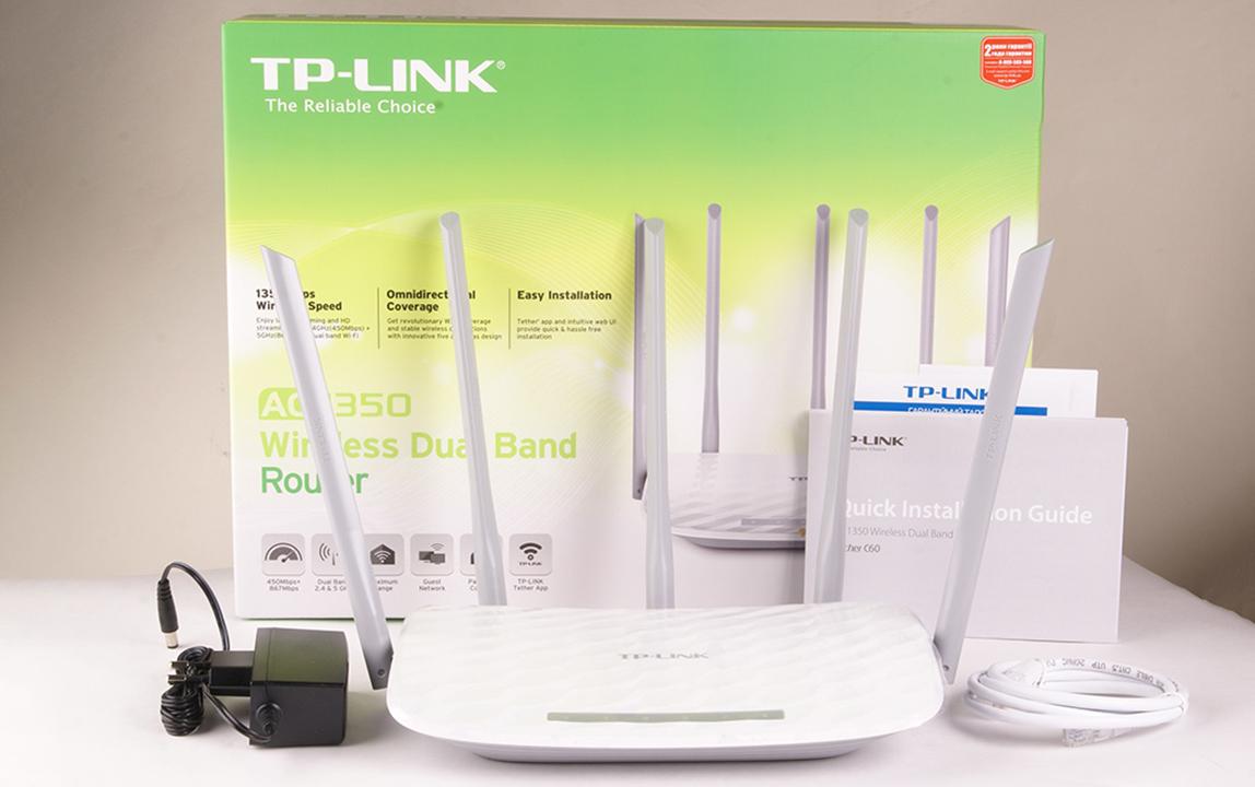 TP-Link модели Archer C60