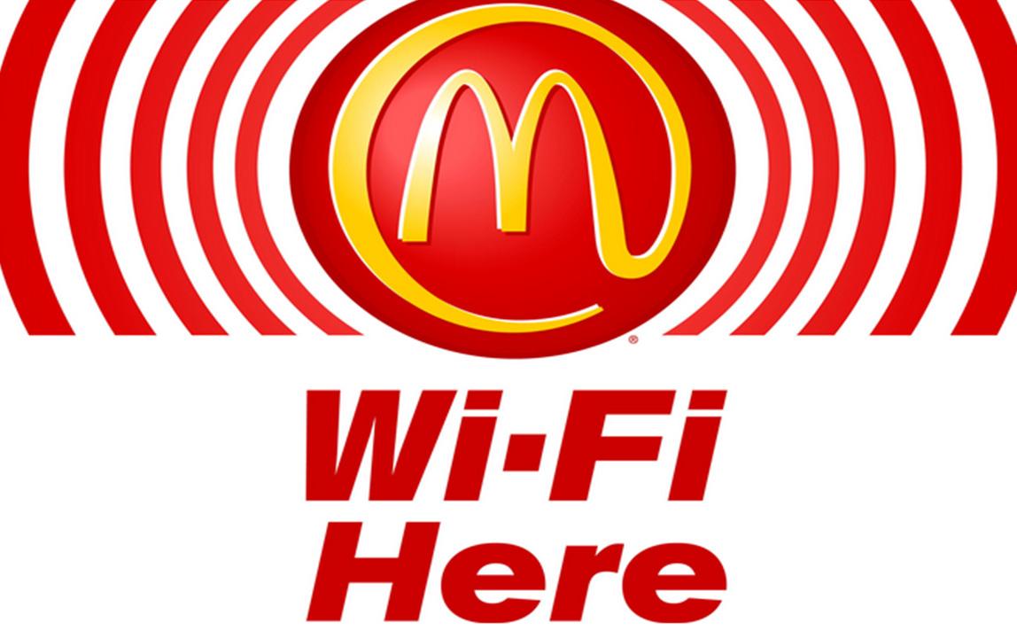 Wi-fi в Макдональдс