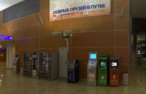 Терминалы в Шереметьево