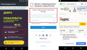 Идентификация пользователей через официальные порталы