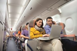 Wi-fi в самолете