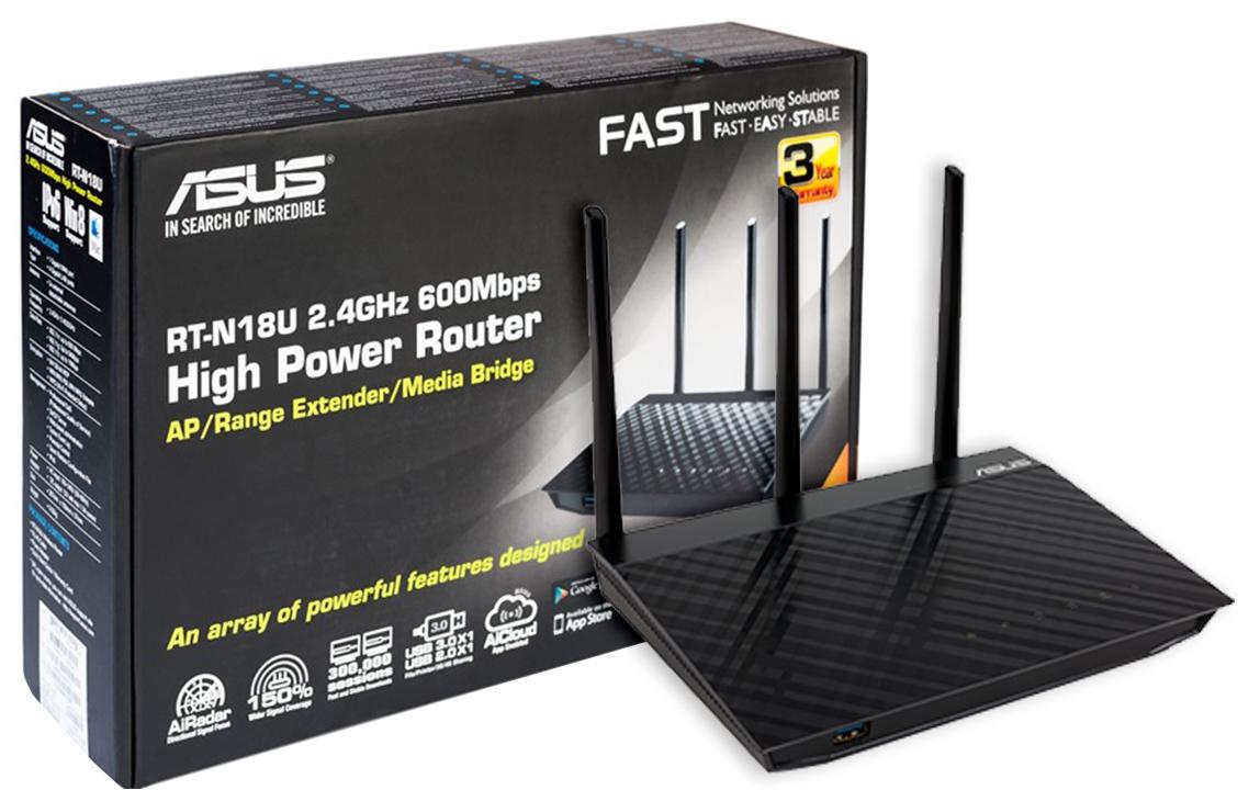 Asus RT модели N18U