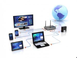 Локальная компьютерная сеть свыходом вИнтернет