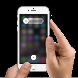 ерезагрузка телефона IOS