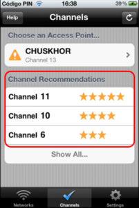Помогает определить, какой канал выгоднее всего занять при использовании собственной Сети