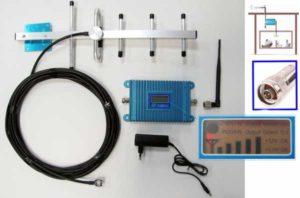Сделанный усилитель 3G, 4Gсигнала для дачи своими руками