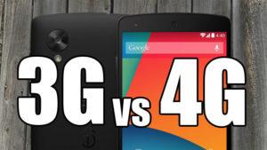 Что лучше, 3G или 4G в телефоне