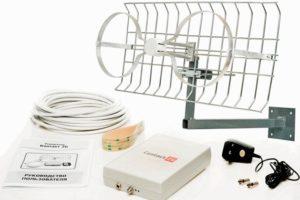 Стандартный набор широкодиапазонной антенны для усиления Интернета