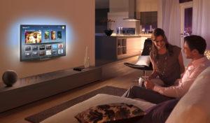 Телевизор споддержкой функции SMART-TV