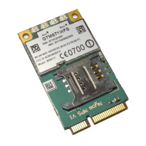 Внутренний 4G модуль