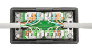 Соединение UTP-кабеля