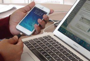 Как подключиться кинтернету сприменением айфона иЮСБ-кабеля