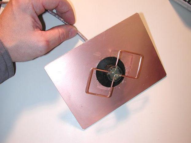 Как выглядит собранная антенна вай-фай своими руками