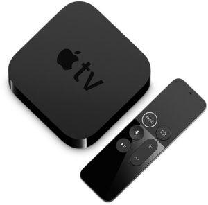 Использование приставки Apple TV