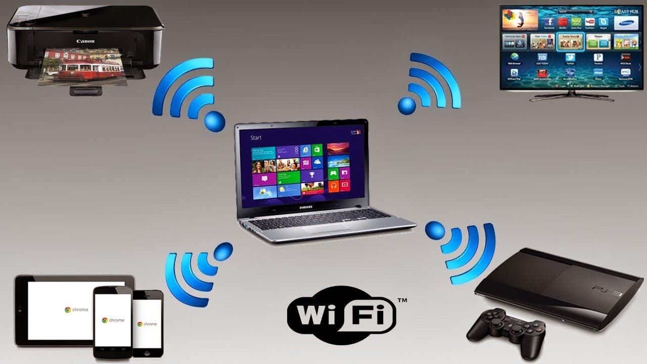Раздача интернета по Wi-Fi
