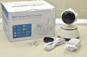 Поворотная видеокамера