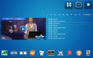 Наличие в Crystal TV телепрограммы для каждого канала