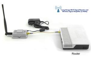Стандартный усилитель с Wi-Fi проводом
