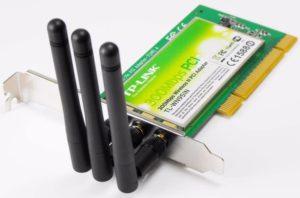Wi-Fi адаптер TP-Link TLWN951n с тремя антеннами