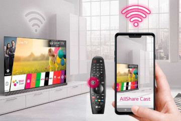 Подключение и настройка Wi-Fi Direct на телевизорах