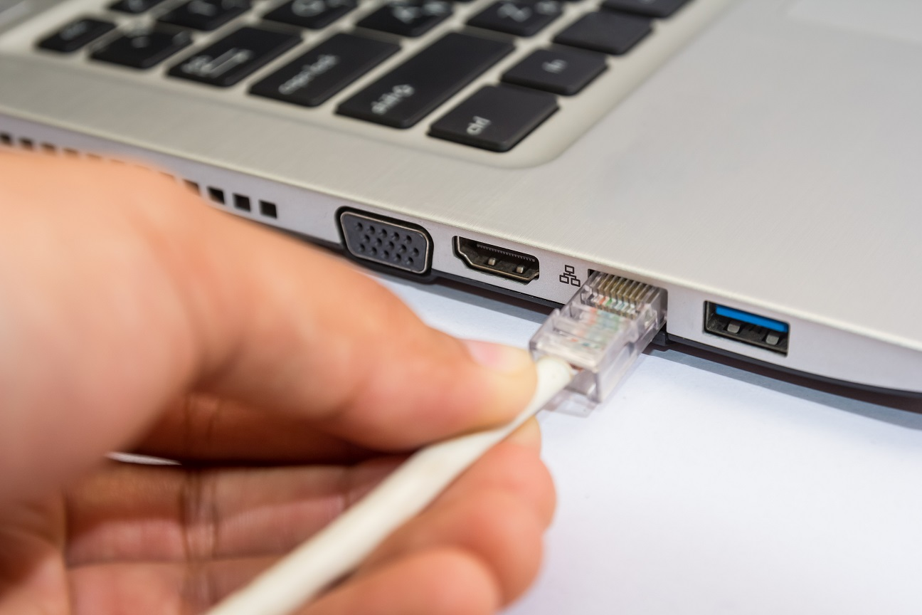 Выход в сеть через ноутбук