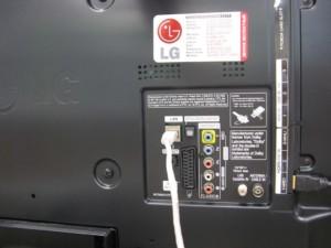 LAN-порт есть у каждого современного телевизора