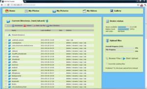 Веб-интерфейс для пользования документами