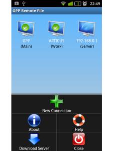 GPP Remote File как альтернатива рассматриваемой программе