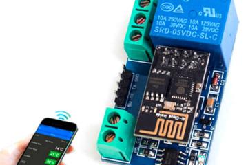 Реле на чипе ESP Wifi позволяет автоматизировать некоторые бытовые процессы