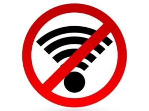 Отсутствие интернета может быть связано с неполадками в общей сети
