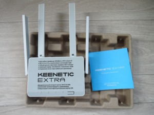 Роутер Keenetic Extra KN 1710 комплектация