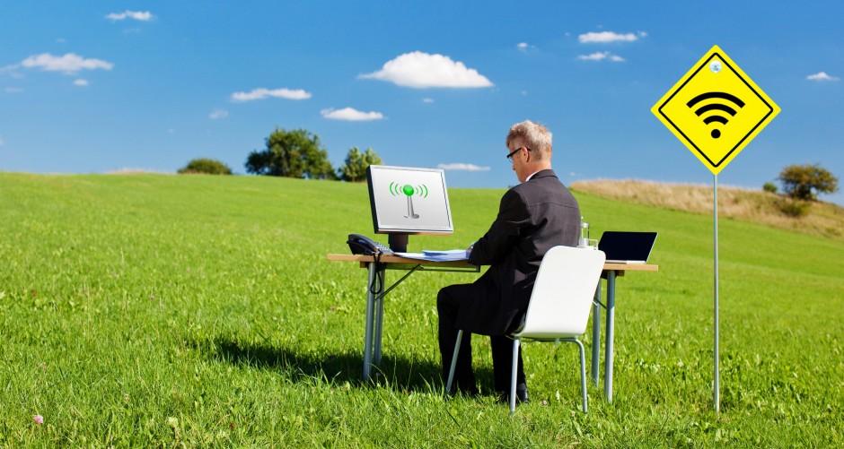 как ускорить интернет в деревне