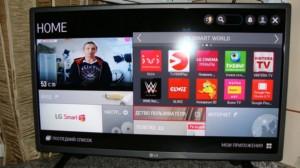 LG Smart Tv с приложением Винтера