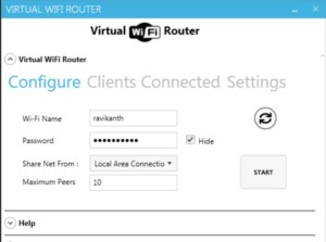 WiFi Virtual Router