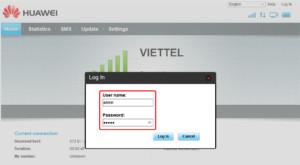 Настройка «Router Huawei» возможна только после входа в учетную запись