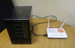 Сетевое хранилище для дома, подключаемое по Wifi