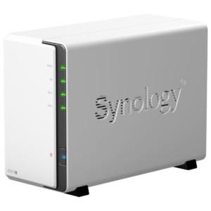 Сетевой накопитель Synology DS212j для дома с wifi