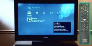 Как подключить ТВ «Сони-Бравиа» к сети через вайфай